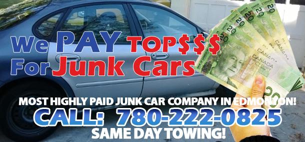 junk car removal edmonton